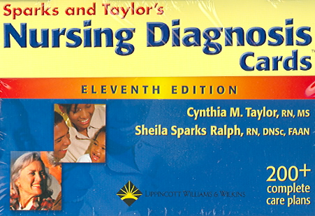 Nursing Diagnosis Cards By Taylor, Cynthia M./ Ralph, Sheila Sparks